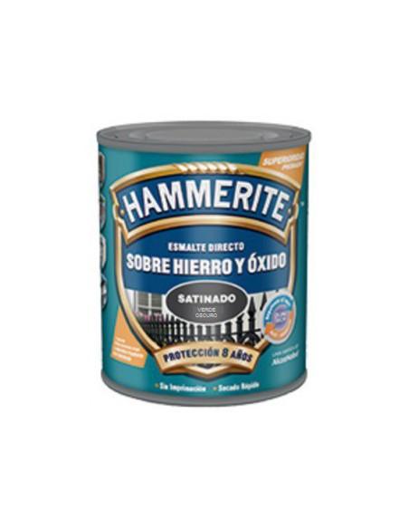 HAMMERITE SATINADO VERDE OSCURO
