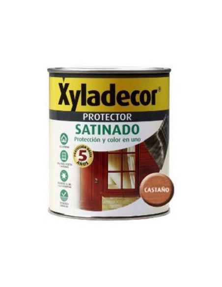 XYLADECOR PROTECTOR SATINADO CASTAÑO