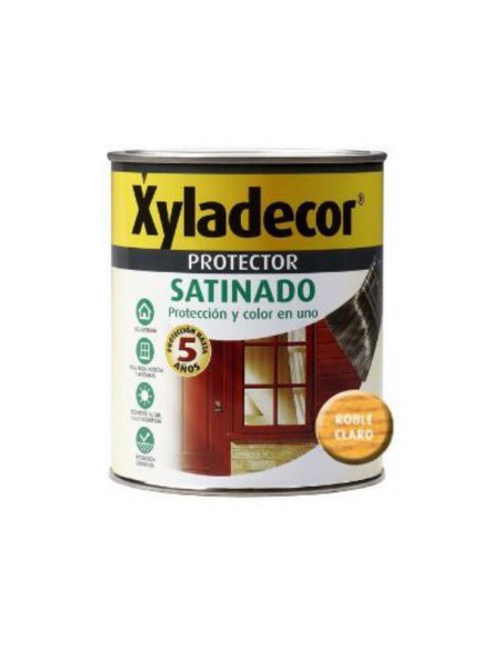 XYLADECOR PROTECTOR SATINADO ROBLE CLARO