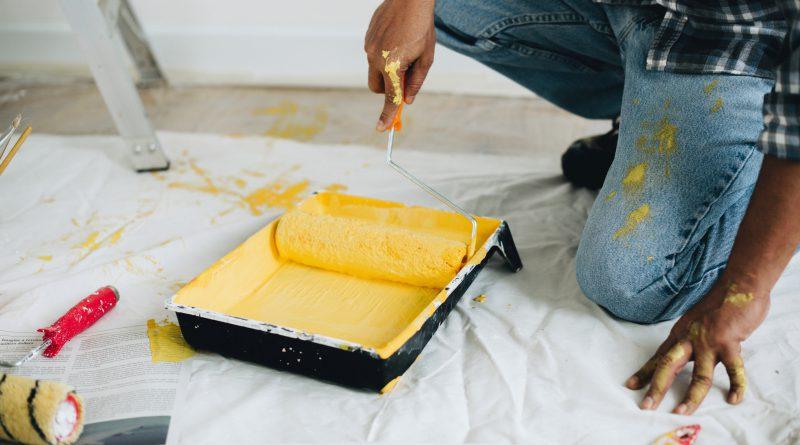 preparar paredes antes de pintar